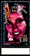 France Poste Obl Yv:2899 Mi:3046 Joséphine Baker Bord De Feuille (Lign.Ondulées) - Used Stamps