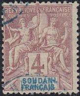 Soudan Français 1894-1900 - N° 05 (YT) N° 5 (AM) Oblitéré. - Used Stamps