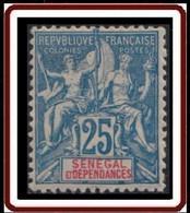 Sénégal 1887-1906 - N° 24 (YT) N° 24 (AM) Neuf *. - Unused Stamps