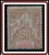 Sénégal 1887-1906 - N° 25 (YT) N° 25 (AM) Neuf *. - Unused Stamps
