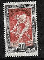 France N° 185  Neuf   *     B/TB     Soldé à Moins De 15 %     Le Moins Cher Du Site ! ! ! - Neufs