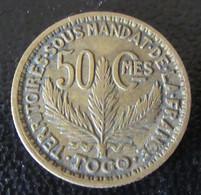 Togo / Territoires Sous Mandat De La France - Rare Monnaie 50 Centimes 1925 - Togo