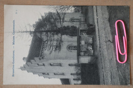 GANSHOREN : Maison Communale Et L'aubette Du Tram Avant 1906 - Ganshoren