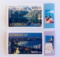 EUROPA CEPT 2004 AZERBAÏDJAN 2 V Neuf MNH ** YT 489 490 Mi 573 574 Vacances Holidays AZERBEYJAN - 2004