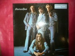 LP33 N°7034 - STATUS QUO - 9102 006 - DISQUE MADE IN FRANCE LABEL BLEU VERTIGO ANNEE 1976 - Rock