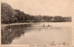 FONDI. -  Lago S. PUOTI.   A Circulé En 1915.  TRES BON ETAT.  Dentelé.  Voir SCANS Recto-verso - Autres