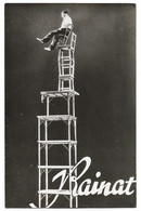 CIRQUE   Edmond RAINAT  Trapeze équilibriste - Circo