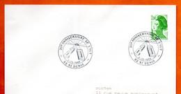 93 ST DENIS  L' IUT  1988  Lettre Entière N° QR 361 - Gedenkstempel