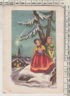 BUON NATALE  MERRY CHRISTMAS  JOYEUX NOËL BAMBINI COSTUMI 1953 - Andere