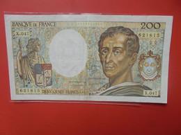 FRANCE 200 FRANCS 1987 Circuler (B.21) - 200 F 1981-1994 ''Montesquieu''