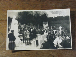 LISIEUX /Souvenir De L'inauguration Du Monument élevé Sur L'emplacement De La Tombe De Soeur THERESE 29/4/1925 - Lisieux