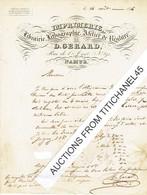Lettre 1846 - NAMUR - D. GERARD - Imprimerie,lithographie,atelier Reliure,librairie - Précurseur LAC NAMUR 14 AOUT 1846 - Zonder Classificatie