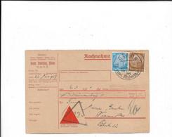 Nachnahmekarte Aus Kleve 1937 - Covers & Documents