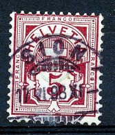 """HELVETIA - Mi Nr 52 - """"SION"""" - (ref. 2795) - Used Stamps"""