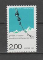 FRANCE / 1987 / Y&T N° 2480 ** : Transports à Câbles X 1 - Neufs