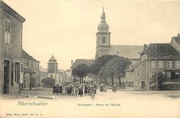 France - 57 - Alberschweiler - Abreschviller - Kirchplatz - Place De L ' Eglise - Nels Série 148 N° 2 - Altri Comuni