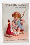 - CHROMO CHOCOLAT IBLED - 4, Rue Du Temple - PARIS - MONDICOURT (Pas-de-Calais) - LA RÉPRIMANDE - - Ibled