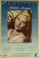 AFFICHE CINEMA EXPOSITION MICHELE MORGAN CINEMA RIVOLI CARPENTRAS 1988 - Affiches & Posters