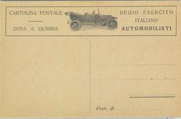 93140 - ITALY - POSTAL HISTORY - Feldpost WAR ZONE STATIONERY Card : CARS - Entiers Postaux