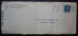 Cuba 1918 Santiago Lettre Censurée Pour Barcelone, Espagne, Cachet De Censure 214 Au Revers - Cartas
