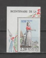 """FRANCE / 1989 / Y&T N° 2593 ** : """"Bicentenaire De La Révolution"""" (Mme Roland) X 1 CdF Sup G - Neufs"""