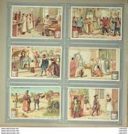Chromo LIEBIG-S 719-L'ART De GUÉRIR-(série)-1902 - Liebig