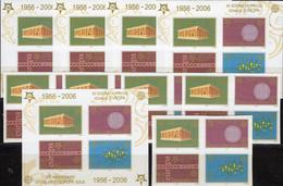 10x Blöcke 50 Jahre CEPT 2006 Serbien 3257/0 4-Block+Bl.59B ** 115€ Bloque Blocs History Stamps Ss Sheets Bf EUROPE - 2006