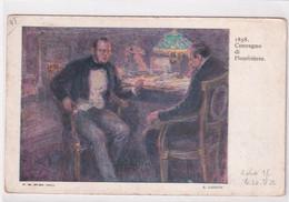 ITALIE - 1911 - CP ENTIER ILLUSTREE RARE EXPO BELLE ARTI VENEZIA ! CONFERENCE De PLOMBIERES ! - Entiers Postaux