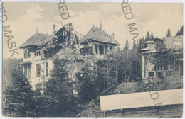 RO 96 - 14009 PREDEAL, Romania, Villa Destroyed By Bombs - Old Postcard - Unused - Rumania