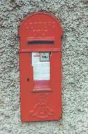 Wallbox Pengen Ffordd Talgarth Post Pillar Box Postcard - Poste & Postini