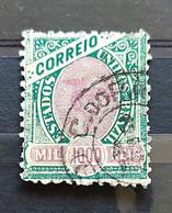 Brazil Stamp Selo RHM 89 1000 Reis Ano 1894 Comércio 01 - Oblitérés