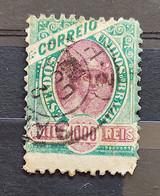 Brazil Stamp Selo RHM 89 1000 Reis Ano 1894 Comércio 02 - Oblitérés