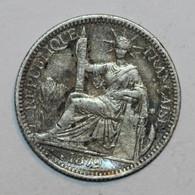 COCHINCHINE FRANCAISE - 10 Cent - 1879 (soudure !) - Colonies