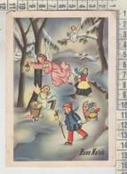 BUON NATALE  MERRY CHRISTMAS  JOYEUX NOËL  BOSCO REGALI ANGELI VG  1958 - Andere