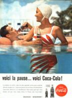 "PUB    "" COCA COLA  ""  1960  ( 19 ) - Affiches Publicitaires"