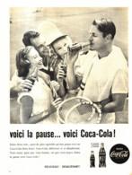 "PUB    "" COCA COLA  ""  1960  ( 20 ) - Affiches Publicitaires"