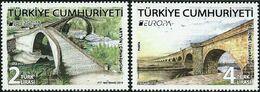 CEPT / Europa 2018 Turquie N ° ___?  Et ___? **  Ponts Et Viaducs - Trains - 2018