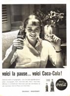 "PUB    "" COCA COLA  ""  1960  ( 21 ) - Affiches Publicitaires"