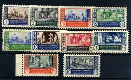 Marruecos Español Nº 260/9. Año 1946 - Spanish Morocco