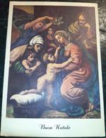 Cartolina Dipinta Con La Bocca O Con Il Piede - Buon Natale - Andere