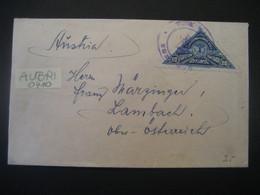Costa Rica 1925- Bedarfs-Brief Nach Lambach In O.Ö. - Costa Rica