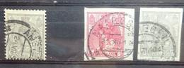 NEDERLAND   1899    Nr. 81  /  82 - 83     Gestempeld   NVPH 2017 -  CW 20,30 Euro - Unclassified