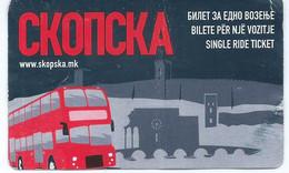 Transportation Tickets > One-day Ticket > Bus > Europe.Macedonia Skopje - Single Ride Ticket - Europe