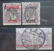 NEDERLAND  1919    Nr. 102 - 103  /  106    Gestempeld   NVPH 2017 -  CW  16,00 Euro - Used Stamps