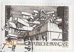 France - YT 2365 (Oblitéré) - L'architecture Contemporaine - Vue De Givors (1985) - Oblitérés