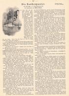 189 Stöwer Funkenpuster Dampfschiff Heizer 1 Artikel Mit 4 Bildern Von 1903 !! - Unclassified