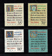 New Zealand 1988 Christmas Set Of 4 MNH - Ongebruikt