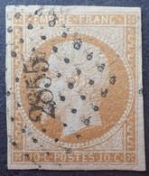 X276 - NAPOLEON III N°13Ab Bistre Orange - PC 2855 : SEDAN (Ardennes) - 1853-1860 Napoleon III