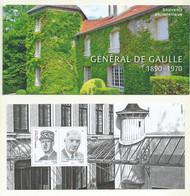 BLOC SOUVENIR N°174 GENERAL DE GAULLE LIVRE DANS SON BLISTER FERME. - Souvenir Blocks & Sheetlets