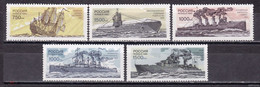 RUSSIE/RUSSIA/RUSSLAND/ROSJA 1996 MI.519-23** ,ZAG.300-304,YVERT. - Unused Stamps
